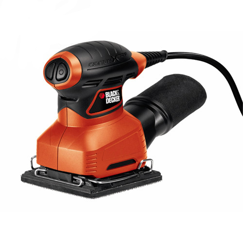 LIJADORA ORBITAL 1_4 1_8A BLACK&DECKER QS800